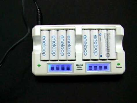 Jual Battery Charger Sanyo Eneloop Maha Powerex All danae tech maha lcd screen battery charger 8 channel makeup guides