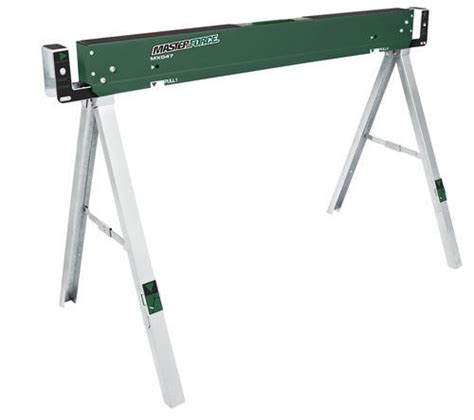 Table Legs Menards by Masterforce 174 Sawhorse Table 1100 At Menards 174
