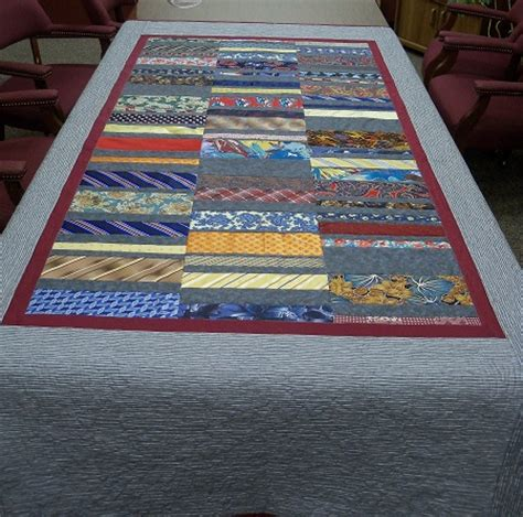 Mens Tie Quilt by Quilts Using S Ties