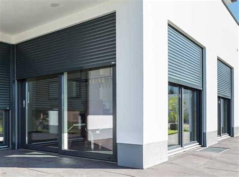 Fenster Sichtschutz Außen Elektrisch by Elektrische Rollos Auen M Aluminium