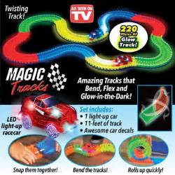 magic tracks glow dark race car tracks collections