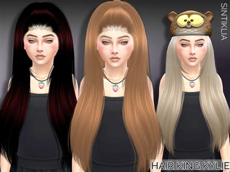 tsr kids hair sintikliasims sintiklia child hair king kylie