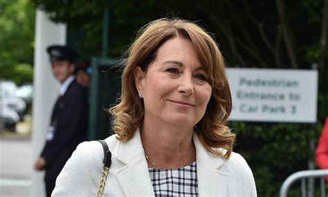 carol middleton hair styles carole middleton shares her tips for hosting the perfect