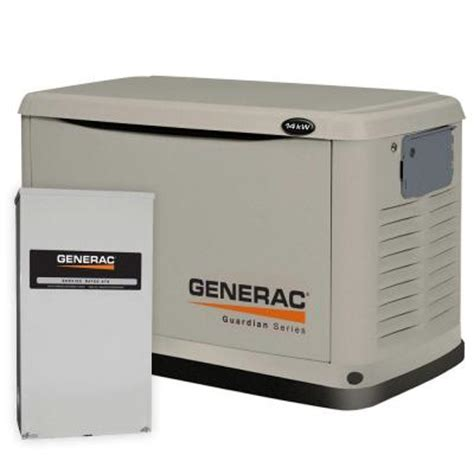 generac 14 000 watt automatic standby generator with 200