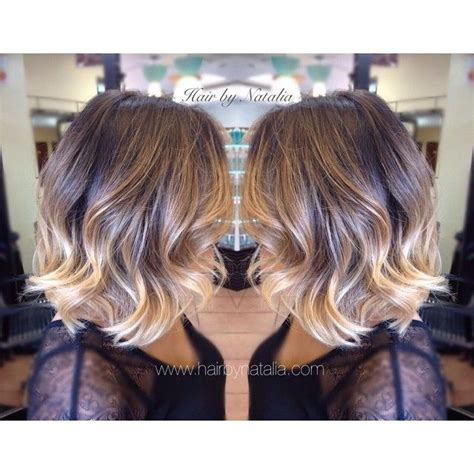 sombre short hairstyles balayage short black hair www pixshark com images