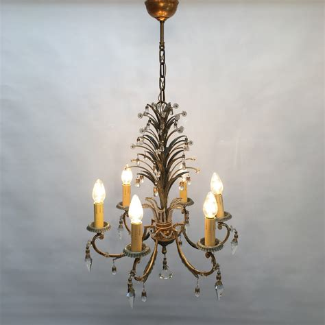 Chandelier With Matching Sconces chandelier w two matching sconces