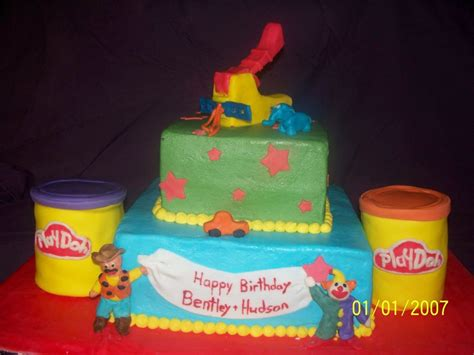 Doh Cake Decor play doh birthday cake cakecentral