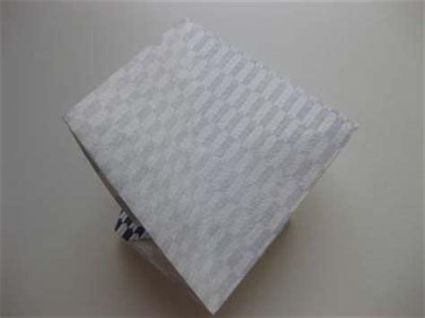 origami desk organizer folding how to fold