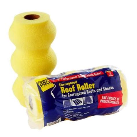 home depot paint roller covers 9 in x 1 1 4 in corrugated roof foam paint roller cover
