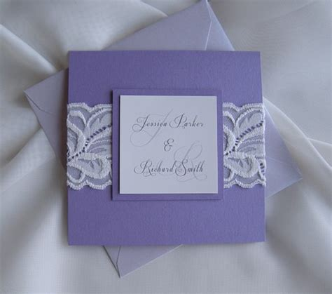 Wedding Invita by Wedding Invitation Purple Wedding Invitation Wedding