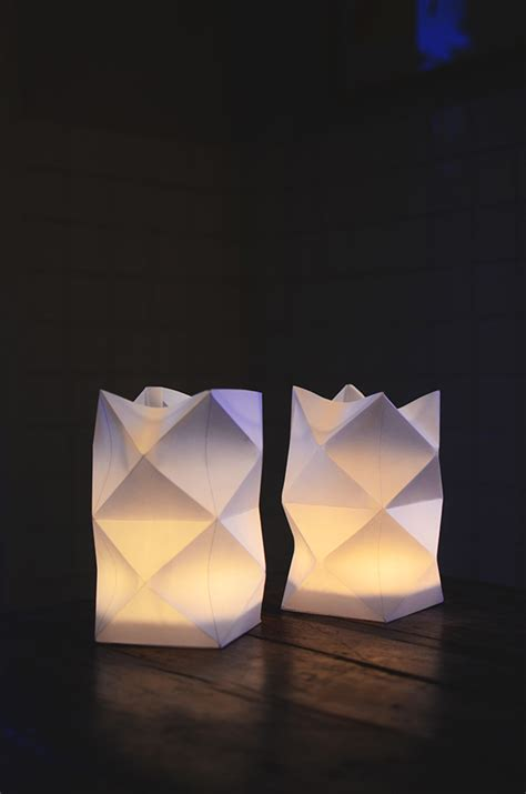 Modern Paper - how to make paper lanterns with whimsical designs