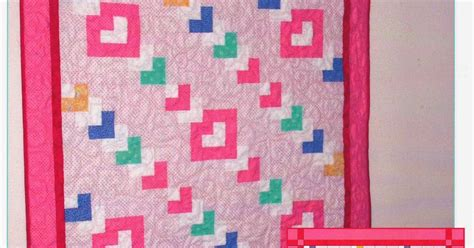 Chain Baby Quilt by The Of Sewing And Quilting Chain Of Hearts
