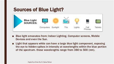 sources of blue light digital eye strain
