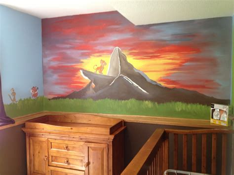 lion king bedroom our baby s room lion king kiddos pinterest baby