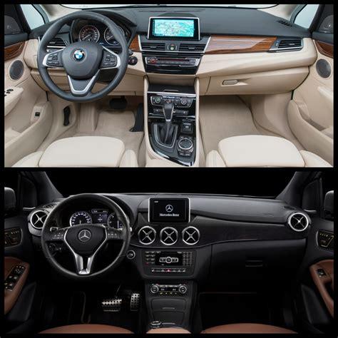 Vergleich Bmw 2er X1 by Bmw 2er Active Tourer Im Vergleich Zur Mercedes B Klasse