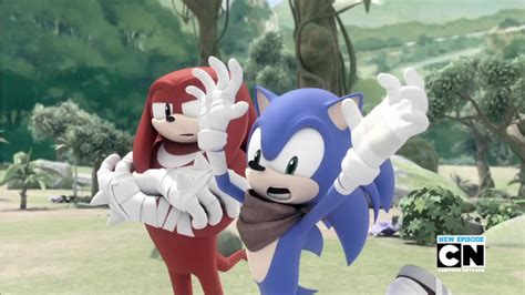 dream boat tv show sonic boom tv series knuckles and sonic by luniicookiez