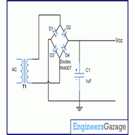 diode converts ac to dc circuit diagram for high voltage high current power supply