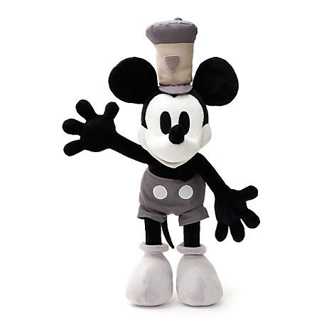 steamboat willie plush mickey mouse steamboat willie medium soft toy