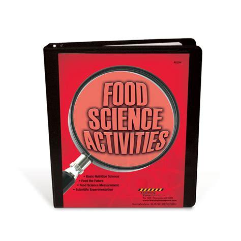 science food high school facs classroom curriculum food science activities