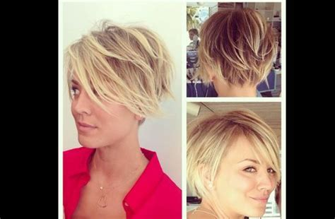 kaley cuoco new short hairdo kaley cuoco s short hair short hair don t care