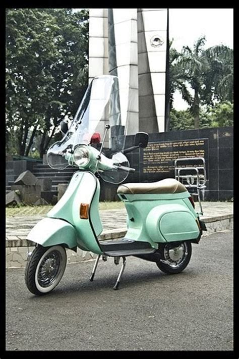 modifikasi vespa original modifikasi vespa jadul motor modification