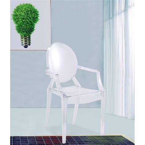 Clear Arm Chair Design Ideas Clear Arm Chair Fmi1130 Clear The Home Depot