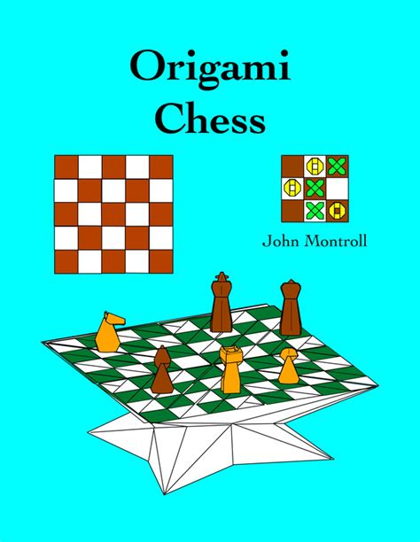 Origami Chess Pieces - origami chess e book edition
