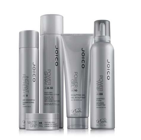 New Hair Styler Products by New Joico Style Finish Power Series Products Hair