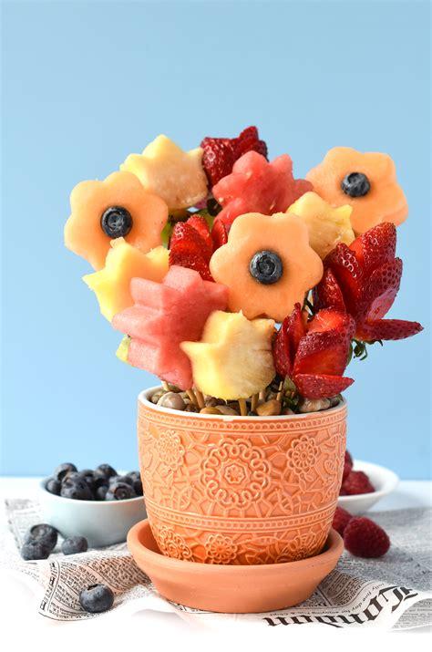 fruit bouquets edible fruit bouquets fork and beans