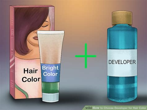 hair color developer how to choose developer for hair color 10 steps with