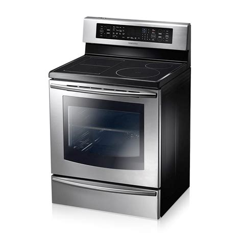 samsung  freestanding induction flexduo range  cuft nenpb mtc factory outlet