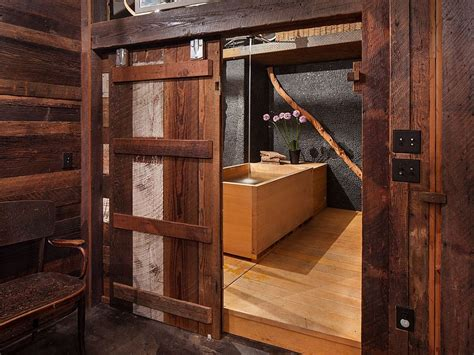 sliding barn door bathroom 15 sliding barn doors that bring rustic beauty to the bathroom
