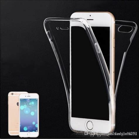 Softcase Tpu 360 Iphone 6 6s Cover Free Tempered Glass Original for iphone 6 clear 360 degree front back clear transparent tpu cover for iphone 6s