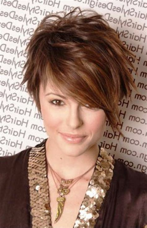 haircut to thin face short hairstyles for thin hair and fat face short