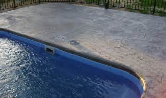 sted concrete pool
