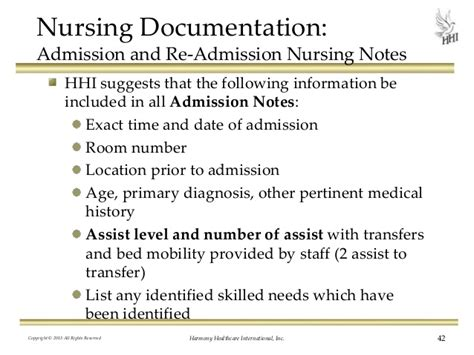Nursing Documentation - nursing documentation do your records support