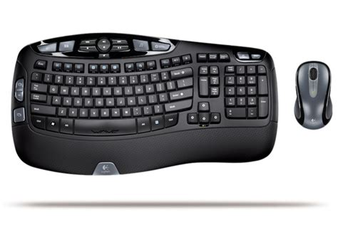 logitech comfort wave logitech unveiled wave keyboard and cordless desktop wave