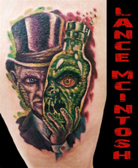 mr b tattoo dr jekyll and mr hyde www pixshark images