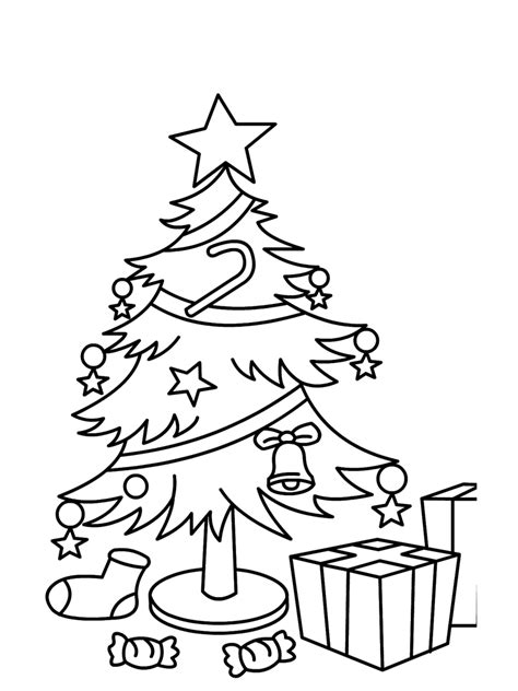 santa christmas tree coloring page free christmas printable coloring sheets worksheets pages