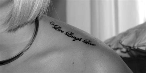 tattoo on shoulder words tattoo words and phrases words tattoologist rodeo