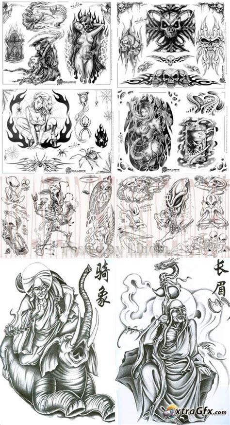 tattoo flash lines tattoo flash sheets lines set 17 187 xtragfx creating