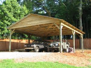 Wood Carport Kits Wood Frame Carports Quotes