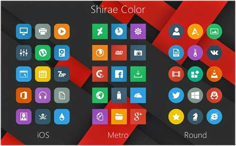 download themes e63 full icon shirae color icon packs windows10 themes i cleodesktop