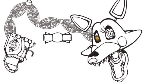 Mangle Coloring Pages