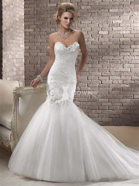 Sweetheart Wedding Dress by Mermaid Wedding Dresses With Sweetheart Neckline