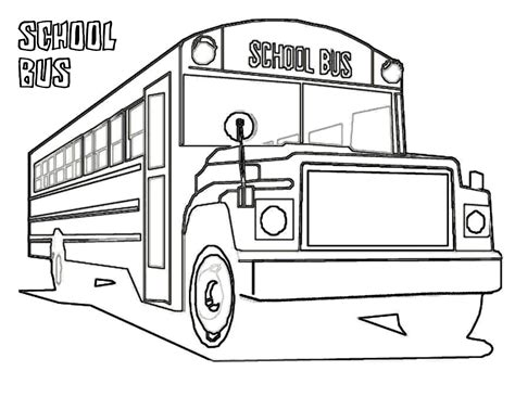 what color are school buses free printable school coloring pages for