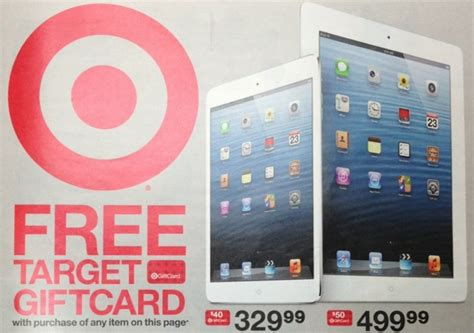 Target Gift Card Promotions - target giving away gift cards on iphone ipad ipod and apple tv purchases