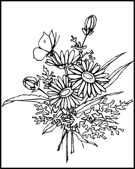 coloring pictures of realistic flowers craft 360 glass painting patterns