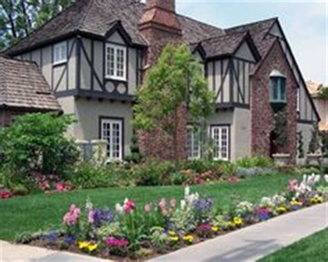 tudor style home ideas exles blue doors and home