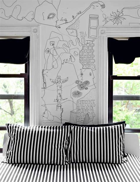cool drawings on bedroom walls art design the drawings on the wall eclectic living home